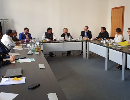 Visit of Germany and The Netherlands to study seed sector and food processing industry