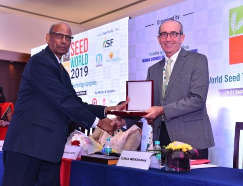 Participation at World Seed Trade and Technology Congress September 2019 in Bangalore