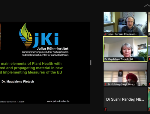 Webinar on the new EU Plant Health Regulation with special reference for seeds