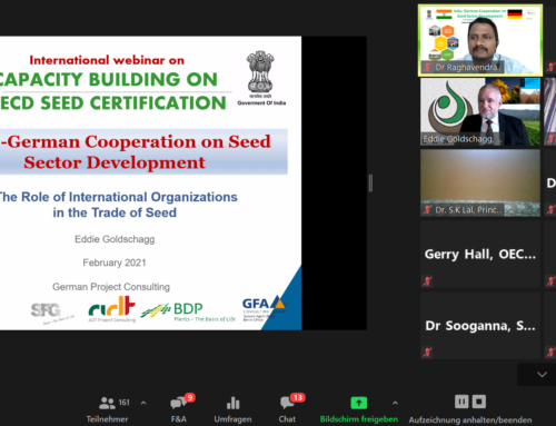 International Webinar on OECD Seed Certification Successfully Conducted