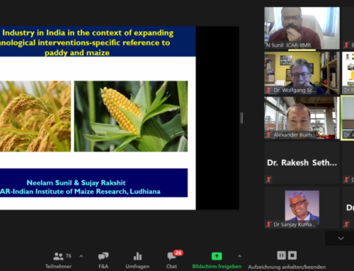 International Webinar on Seed Production with Focus on Maize and Paddy